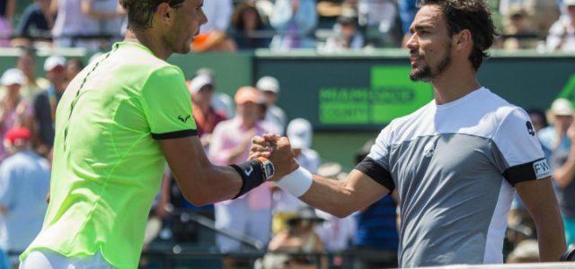 Nadal Fognini Australian Open
