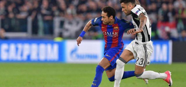 Neymar_DaniAlves_JuveBarcellona_lapresse_2017