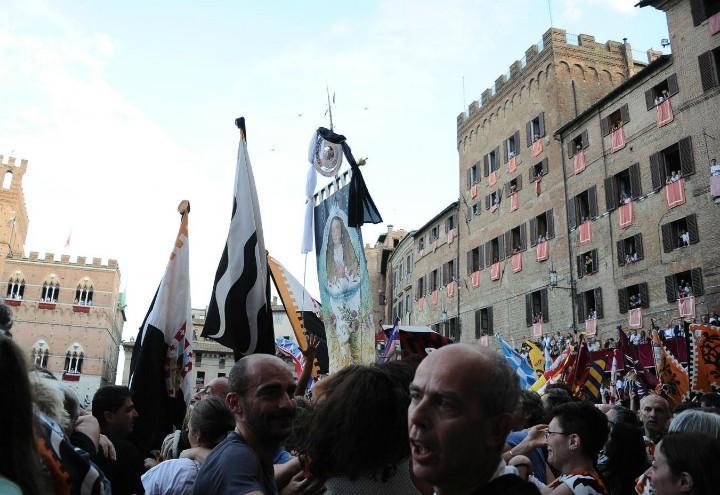 Palio Siena piazza