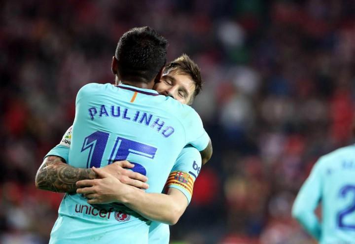 Paulinho_Messi_Barcellona_lapresse_2017
