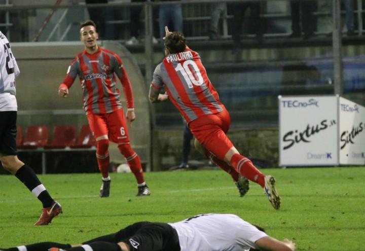 Paulinho_gol_Cremonese_Spezia_lapresse_2017