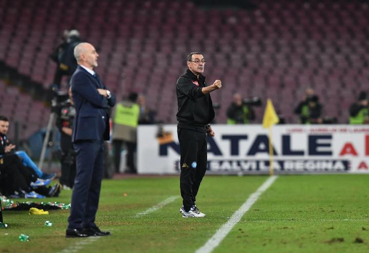 """Conferenza stampa Sarri Juventus/ Napoli, De Laurentiis """"Sempre ..."""