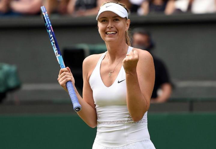 Sharapova_esultanza_Wimbledon_lapresse_2017
