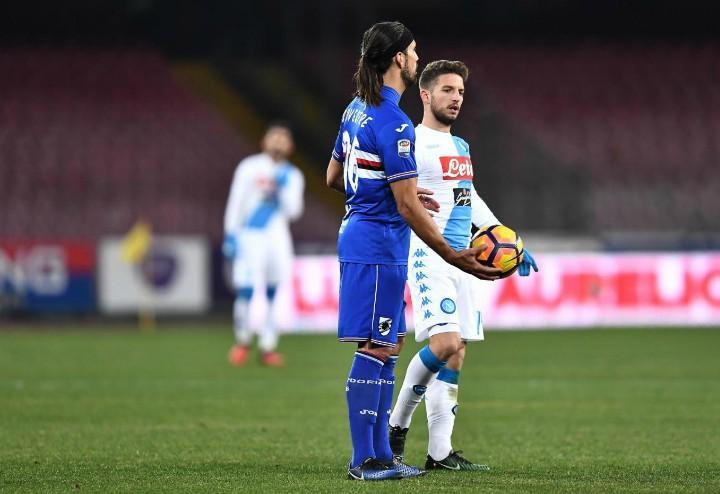 Silvestre_Mertens_Sampdoria_Napoli_lapresse_2017