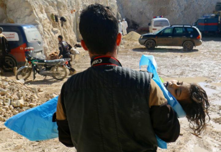 Siria_gas_bambini_lapresse_2017
