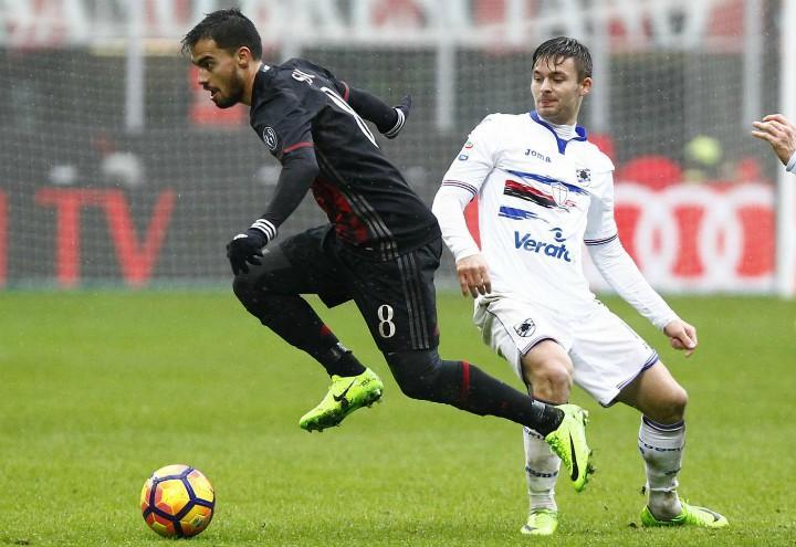 Suso_Milan_Sampdoria_lapresse_2017