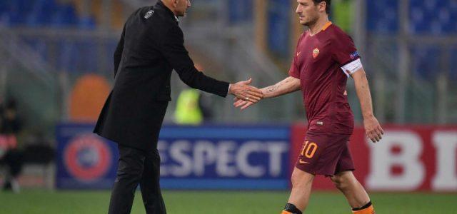 Totti_Spalletti_Roma_lapresse_2017