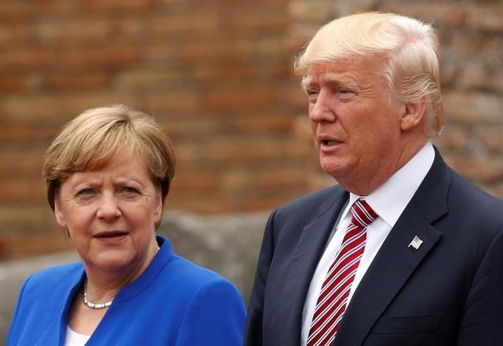 Trump_Merkel_g7_Lapresse