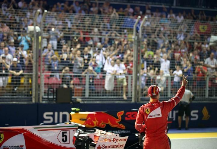 Vettel griglia di partenza Formula 1