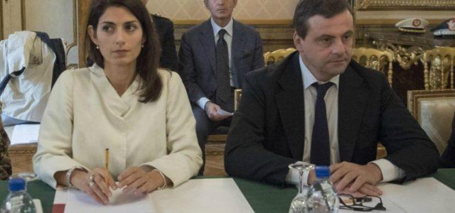 carlo_calenda_virginia_raggi_roma_ministro_sindaco_lapresse_2018