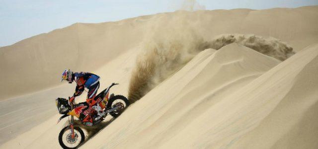 dakar moto sabbia