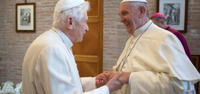 papa francesco benedetto xvi