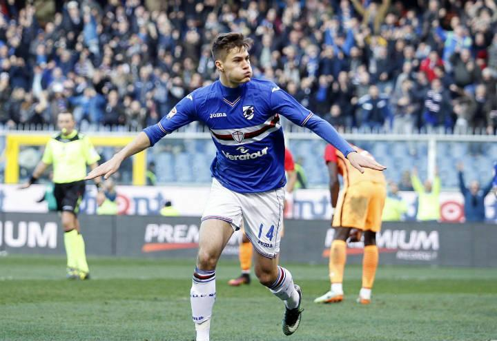 patrik_schick_sampdoria_lapresse_2017