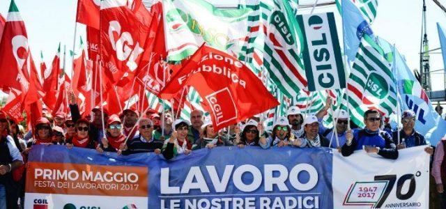 sciopero_sindacati_lavoro_cgil_cisl_uil_protesta_lapresse_2017