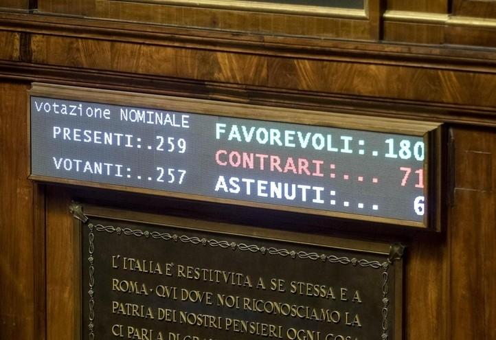 senato_voto_testamento_biologico_lapresse_2017