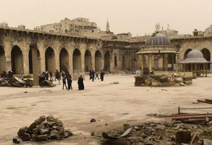 siria_aleppo_moschea_guerra_lapresse_2017