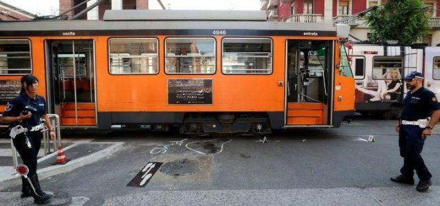 tram_milano_incidente_mezzi_atm_vigili_lapresse_2017