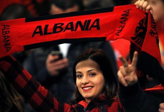 AlbaniaTifosaSciarpa