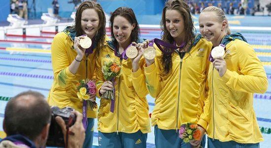 Australia_4x100
