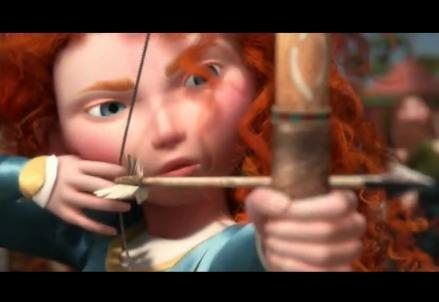 Cartone animato ribelle the brave disney in marina di ardea