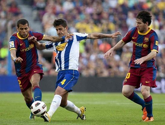 DaniAlves_Messi_Espanyol