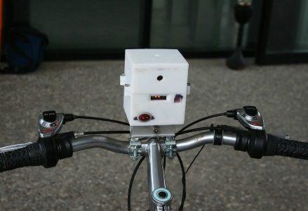 ENEA_sensore_portatile_MONICA_su_bicicletta