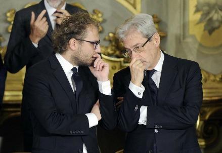 Luca_Lotti_Claudio_DeVincenti_governo_ministri