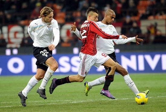 Milan lazio oddo grande partita tra due grandi squadre for Sono due in una partita di calcio