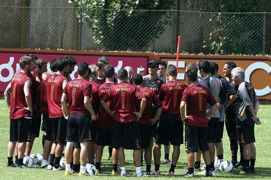 Roma_allenamento