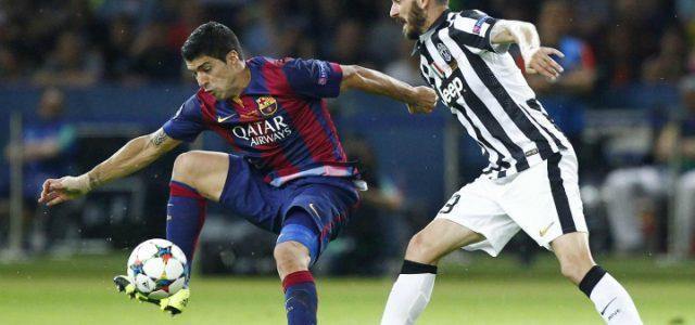 Suarez_Bonucci_Juventus_Barcellona_lapresse_2017