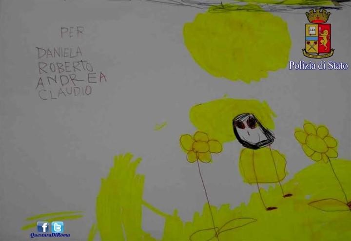bimba_salvata_polizia_roma_questura