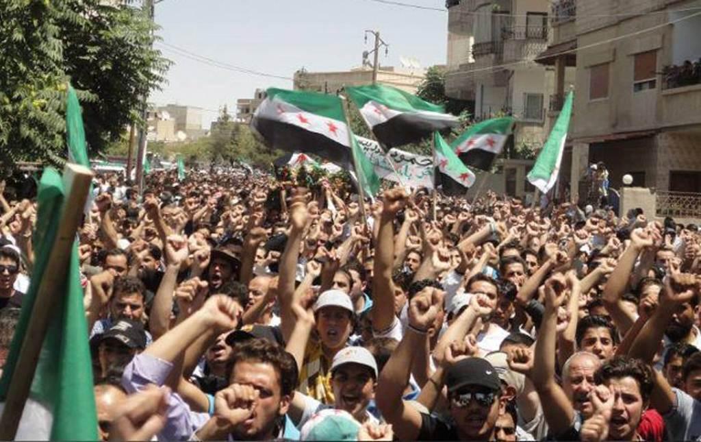 funerali-ribelli-siria-damasco