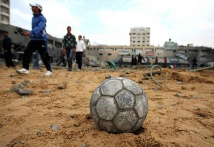gaza-tregua-pallone