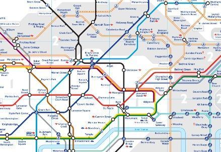 Cartina Della Metropolitana Di Londra.Lettera La Verita E Come La Metropolitana Di Londra
