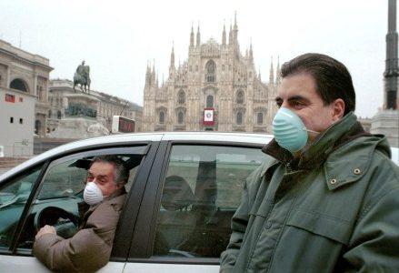 smog-mascherine-inquinamento-milano