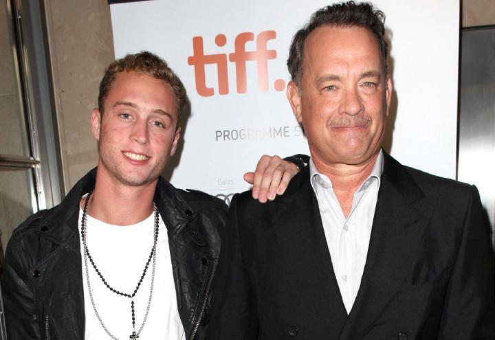 Tom-Hanks-insieme-al-figlio