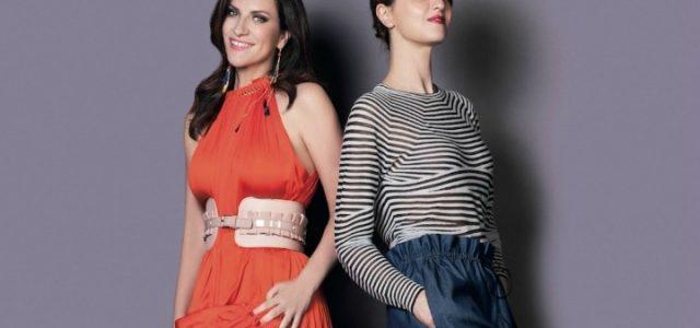 Paola Cortellesi in uno scatto con Laura Pausini