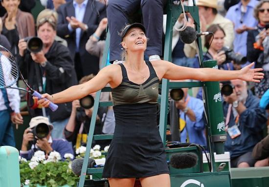 Sharapova_Garros