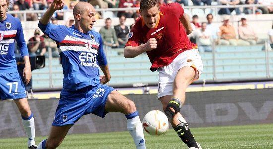 Sampdoria_Roma_lancio