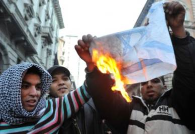 bandieraisraelebruciataR400
