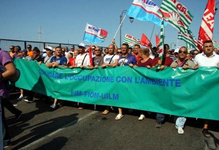 ilva-manifestazione-sindacati