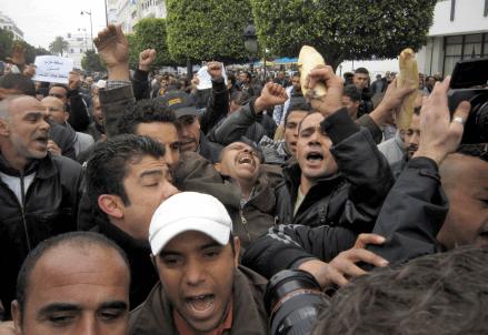 scontri-tunisi