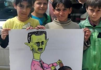 siria-bambini-assad