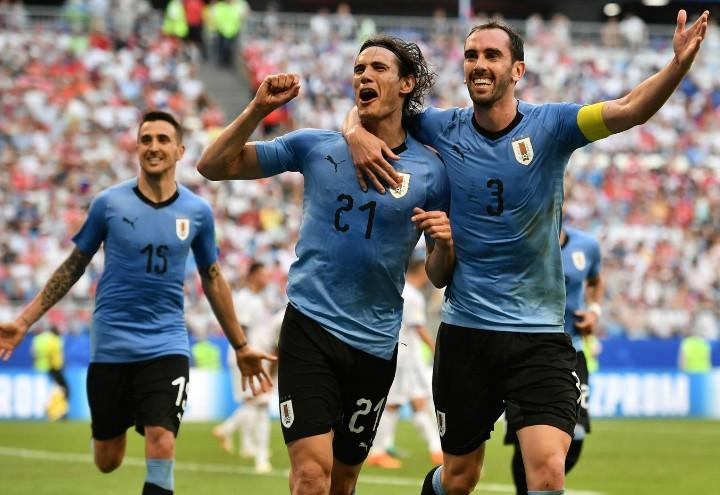 Cavani Godin Uruguay