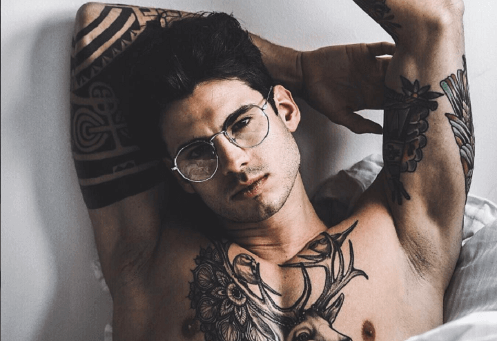 Luca_Daffre_Tatuaggio_Cervo_temptation_island