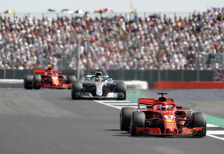 Vettel_Hamilton_Raikkonen_Formula1_Gran_Bretagna_lapresse_2018