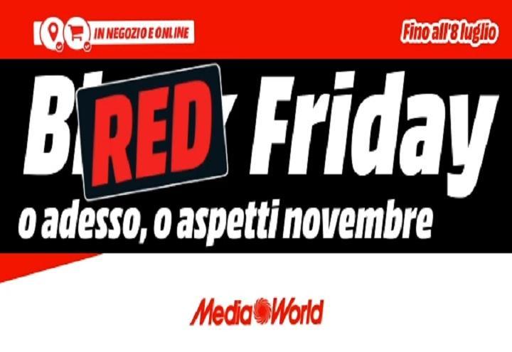 Mediaworld Red Friday Settimana Di Promozioni Il Black Friday