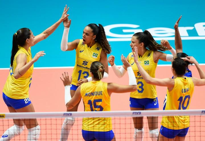 volley nazionale brasile