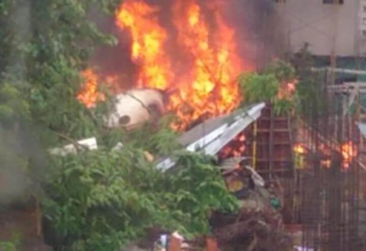 aereo_incidente_india_mumbai_video_twitter_2018
