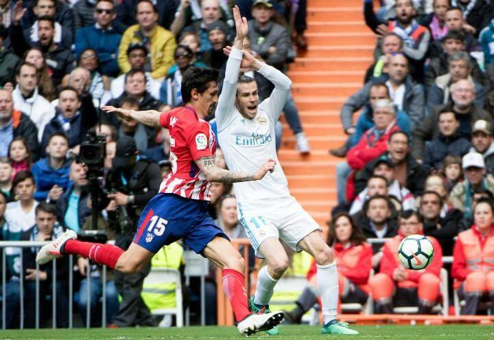 Bale Savic Real Atletico